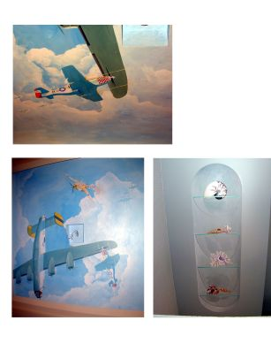 airplane ceiling