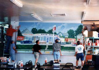 The Beacon Mural