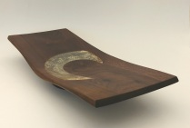 Black Walnut and Book Pages